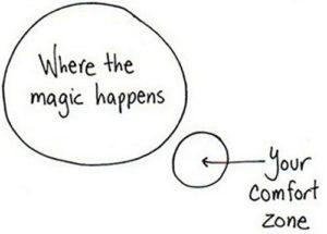 je comfort zone